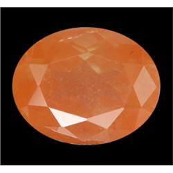 2.80ct Oval Natural Unheated Copper Orange Andesine Appraisal Etimate $825 Appraisal Estimate $1680