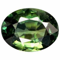 1.23ct Natural Green Sapphire (GEM-21035)