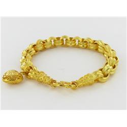 """22k Gold Vermeil Bracelet 8"""" (JEW-1595)"""