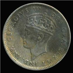 1941 Canada Newfoundland 10c Silver Hi Grade RARE (COI-6743)
