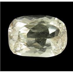 7.04ct Lemon Green Kunzite Afghanistan Oval Cut Appraisal Estimate $1760 (GEM-26158)