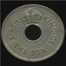 1949 Fiji Penny George VI Hi Grade (COI-7004)