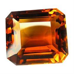 37.75ct Fantastic Emerald Shape Golden AAA Citrine (GEM-23001)