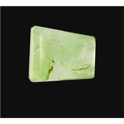 12.78ct Fine Prehnite Gem Fancy Cut (GEM-20700)