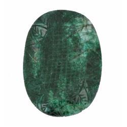 390ct S. American Emerald Gemstone  (GEM-11377)