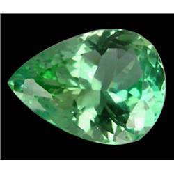 14.0ct Green Pear Cut Afghanistan Kunzite Appraisal Estimate $3500 (GEM-23648)