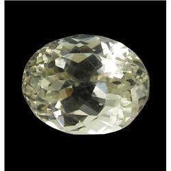 4.71ct Lemon Green Kunzite Afghanistan Oval Cut Appraisal Estimate $1177 (GEM-26170)