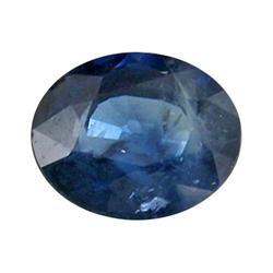 0.44ct Blue Natural Sapphire Oval Facet (GEM-0281B)