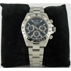 New Technos Swiss Mens CHRONO Style Watch Retail $1995 (WAT-152)