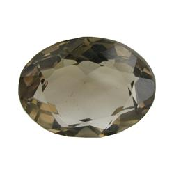 22.97ct Natural Smokey Quartz Oval Cut (GEM-26246)