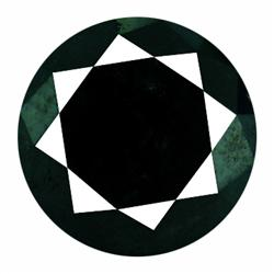 4.31ct Rare AAA Deep Black Natural Diamond  (GEM-20021)