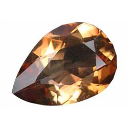 9.87ct Imperial Topaz Pear Unheated Appraisal Estimate $24675 (GEM-19854)