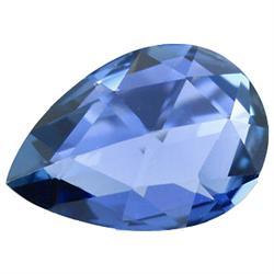 0.90ct Fabulous Pear Deep Blue Sapphire (GEM-25243)