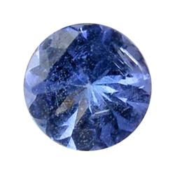 1.48ct Natural Brilliant Blue Tanzanite Round Hi Grade  (GEM-25568)