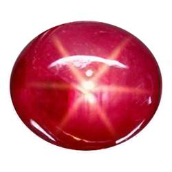 3.64ct Natural 6 Rays Red Star Ruby Unheated (GEM-22835)