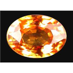 1.09ct Orange Sapphire Oval Heated (GEM-19892)