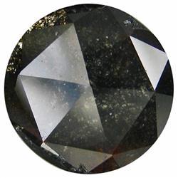 1.96ct Rich Fire Natural Cognac Black Diamond  (GEM-21062)