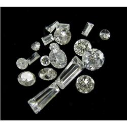 1.00ct Lot Mixed Cut Hi-Grade White Diamonds (GEM-26149)