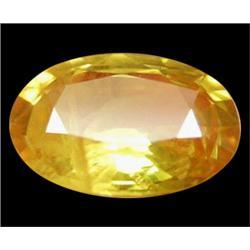 1.32ct Oval Golden Yellow Sapphire (GEM-24642)