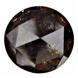 1.23ct Rich Fire Natural Cognac Brown Diamond (GEM-22129)