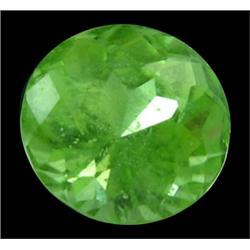 3ct Natural Green Round Peridot Gemstone Paksitan (GEM-24639)