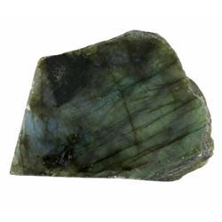 455ct Gem Grade Labradorite Polished Slab Neon Peacock Colors (GEM-21146)