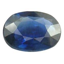 1.00ct Cambodia Pailin Blue Sapphire (GEM-24701)