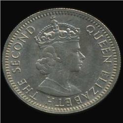 1961 Fiji 6 Pence Elizabeth BU MS64+ (COI-6999)