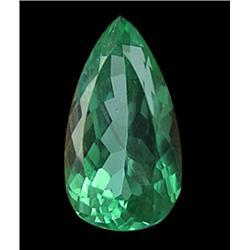 14.35ct Dazling Top Luster Lush Hot Green Kunzite Oval Appraisal Estimate $3587 (GEM-24605)