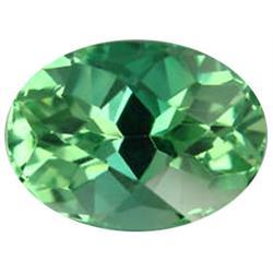 7.5ct Oval Shape Deep Green Afghanistan Kunzite. Appraisal Estimate $1875 (GEM-25903)