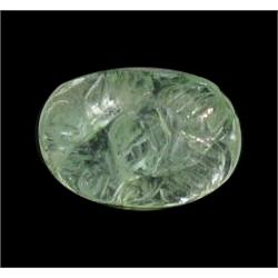 2.89ct. Stunning Green Beautiful Natural Carved Emerald  (GEM-22069)