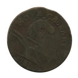 1787 NJ Nova Caesare Coin Hi Grade  (COI-1728)