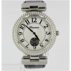 New Rousseau Mens Stainless  Sport Watch Ret $1695 (WAT-154)
