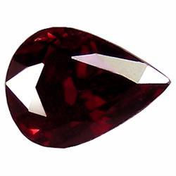 6.96ct Nice Pear Natural Red Garnet (GEM-18425)