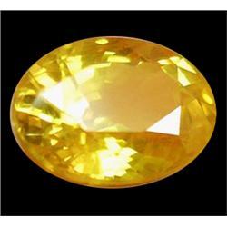 1.15ct Oval Golden Yellow Sapphire (GEM-24643)