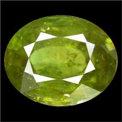 2.30ct Excellent Natural Oval Pakistan Green Sphene (GEM-25099)