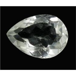 8.57ct Ultimate Flawless Quartz Crystal Gem Pear Cut (GEM-21605)