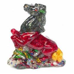 750ct Horse Statue Fancy Color Topaz & Sapphire (GEM-4904A)