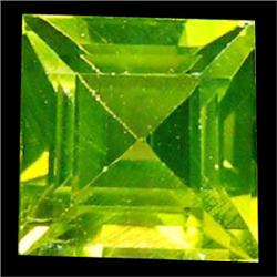 2mm Alluring Top Green Demantoid Garnet Princess Cut (GMR-0596)