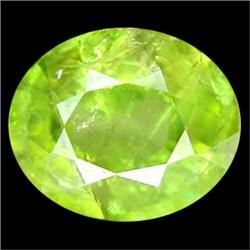2.45ct Wonderful Natural Oval Pakistan Green Sphene (GEM-25039)