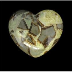 380ct Rare Prehistoric Septerian Carved Heart (GEM-20453)