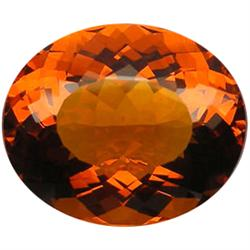 40.15ct AAA Madeira Brazil Citrine Oval Extreme  (GEM-23340)