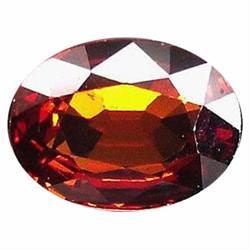 1.44ct Splendid Oval Top Orange Spessartite Granet (GEM-19525)