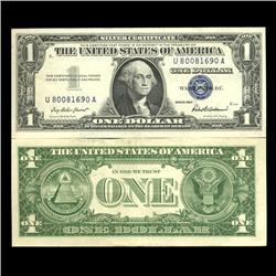 1957 $1 Silver Certificate High Grade AU (CUR-06020)