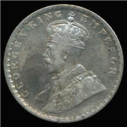 1912C India Silver Rupee High Grade (COI-6640)