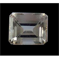 8.5ct Golden Fire Imperial Topaz Emerald FLAWLESS Appraisal Estimate $11900 (GEM-17295)