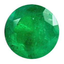 3mm Dazzling Top Green Round Columbia Emerald (GMR-0581)