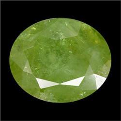 1.75ct Dazzling Horsetail Green Demantoid Garnet Gem Appraisal Estimate $2625 (GEM-8386)