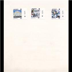 Jersey Mint Margin Single Album Page 3 Pcs (STM-0658)