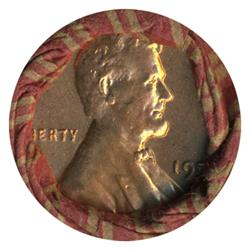 1959D Lincoln Cent RARE Never Opened Original Bank Roll 50 GEMS (COI-4817)
